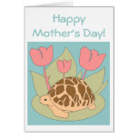 Mother's Day Star Tortoise Card (blue)