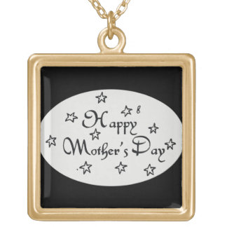 Mothers Day Stars - Gold Plated Necklace