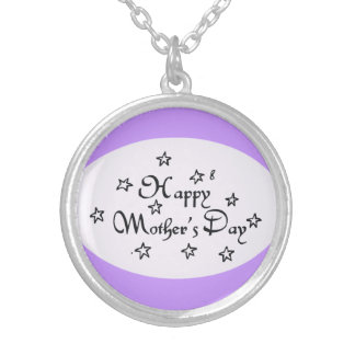 Mothers Day Stars - Silver Plated Necklace