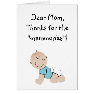 Mothers Day Stationery Note Card