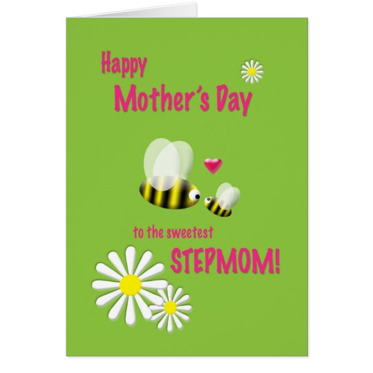 Mother's Day Stepmom Busy Bees Card