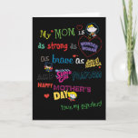 Mother's Day | Strong, Brave, & Fearless Card
