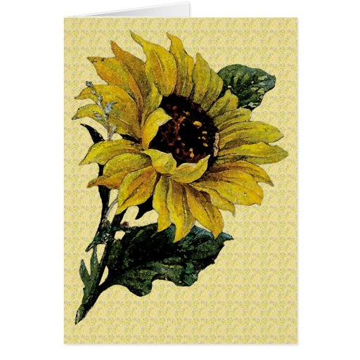 Mother's Day Sunflower Greeting Card