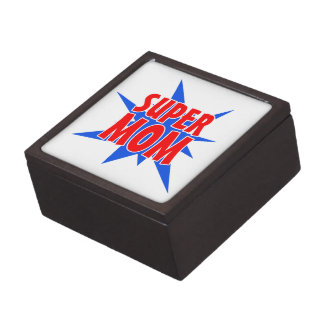 Mother's Day Super Mom Jewelry Box