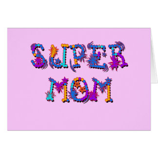 Mother's Day SUPER MOM Tshirts and Gifts