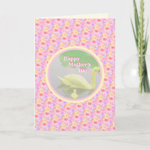 Mother's Day Swan Card