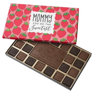 Mother's Day Sweetest Mom Strawberries Assorted Chocolates
