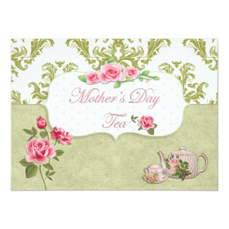 Mother's Day Tea Card