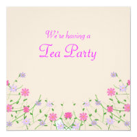 Mother Day Tea Invitations Zazzle