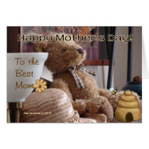 Mother's Day - Teddy Bear - Card - Customize