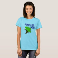 mothers day tee shirt gift idea for fearless moms