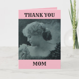 MOTHERS DAY THANK YOU FOR LOVE PATIENCE VICTORIAN