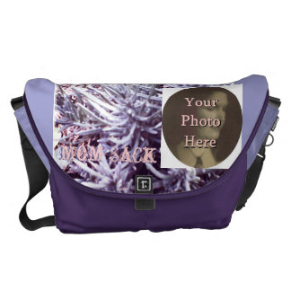 Mother's Day These Quiet Seasons Lavendar Courier Bag