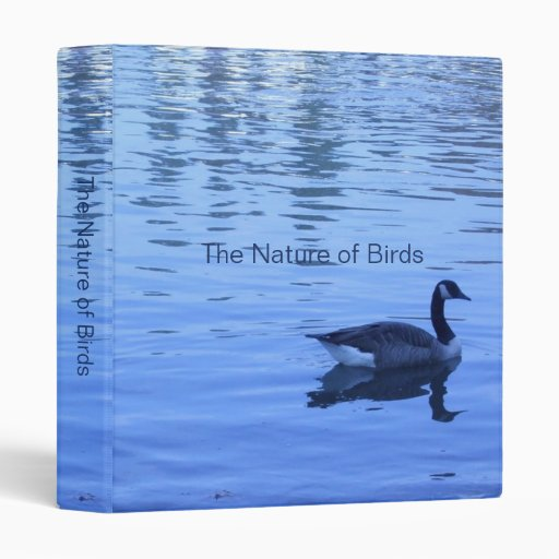 Mother's Day Tranquility Vinyl Binders