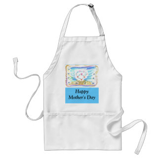 Mother's Day Triple Heart Adult Apron