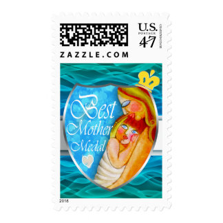 Mother's day  trophy postage