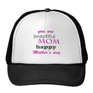 mother's day trucker hat