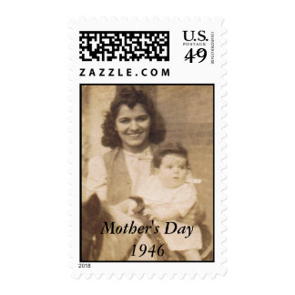 Mother's Day Vintage Stamps