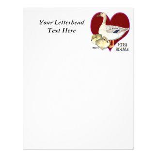 Mother's Day:  Viva Mama! Customized Letterhead