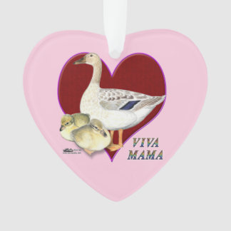 Mother's Day:  Viva Mama! Ornament