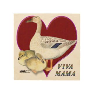 Mother's Day:  Viva Mama! Wood Wall Decor