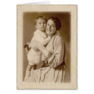 Mother's Day ~Washington Irving Card