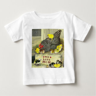 Mother's Day:  We Love Mom! Baby T-Shirt
