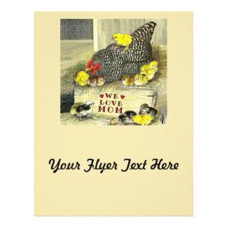Mother's Day:  We Love Mom! Flyers