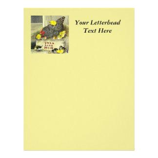 Mother's Day:  We Love Mom! Custom Letterhead