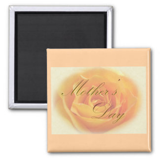 Mothers Day Yellow Rose Magnet