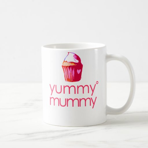 Mother's Day 'yummy mummy' Icon Mug