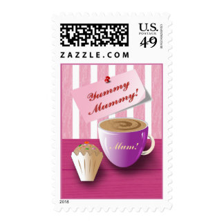 """Mother's Day """"Yummy Mummy"""" Stamp"""