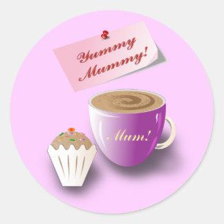 "Mother's Day ""Yummy Mummy"" Sticker"