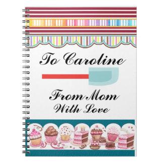 Mother's Favorite Recipes - SRF Spiral Notebook