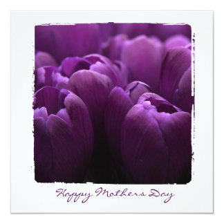 Mothers flower photography flat cards