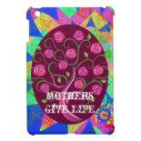 Mothers Give Life Whimsical Tree of Life iPad Case iPad Mini Covers
