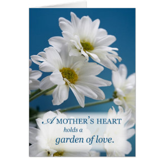 Mother's Heart Holds a Garden of Love Card