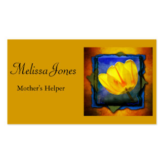 Mothers' Helper / Baby Sitter / Housework Business Business Card