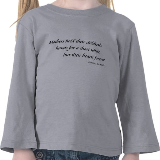 Mothers Hold Hearts Forever Toddler Long Sleeve Tee Shirts