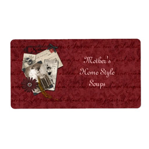 Mother's Home Style Soups Label