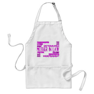 Mothers in Law Birthdays & Weddings : Qualities Adult Apron