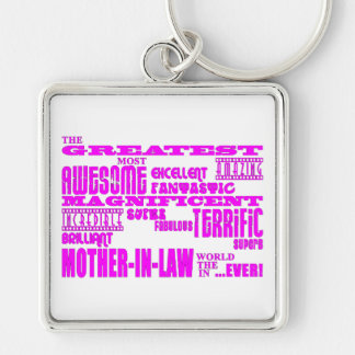 Mothers in Law Fun Gifts : Greatest Mother in Law Keychain