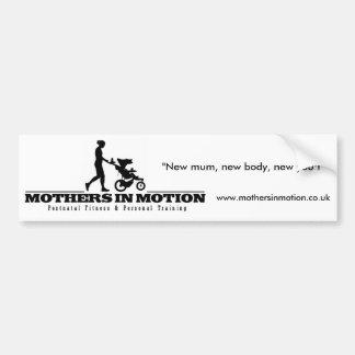 Mothers In Motion Bumper Sticker