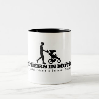 Mothers In Motion Logo Two-Tone Coffee Mug