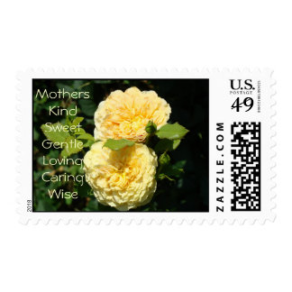 Mothers Kind Sweet Gentle Loving Caring Wise Postage