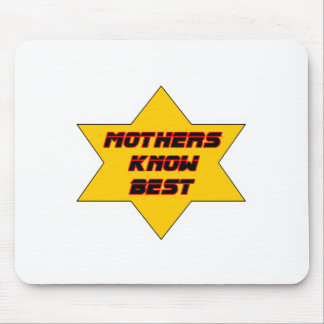 Mothers Know Best Gold The MUSEUM Zazzle Gifts Mousepad