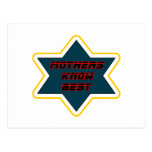 Mothers Know Best white gold The MUSEUM Zazzle Gif Postcard