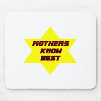 Mothers Know Best Yellow The MUSEUM Zazzle Gifts Mouse Pads