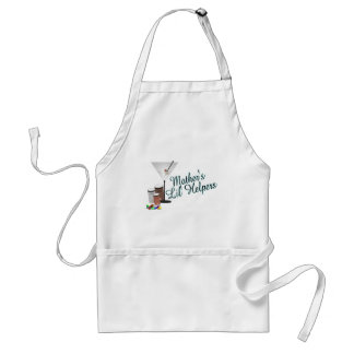 Mother's lil'  helpers adult apron