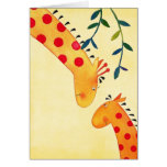 Mothers love 2 greeting card